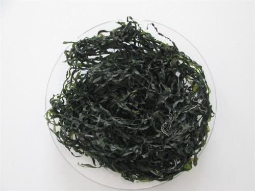 熟干海带丝绿色